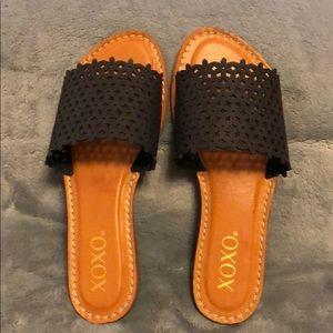 XOXO Women's Richard Slide Sandal Size 5